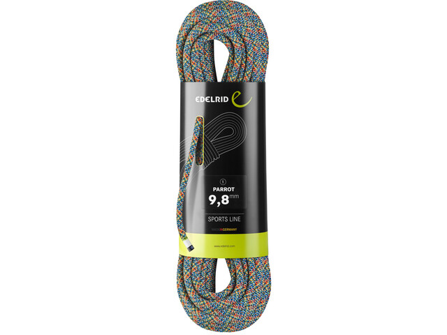 Edelrid Parrot Rope 9,8mm x 80m, assorted colours